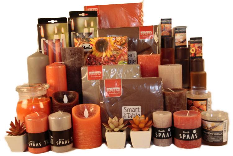 Brune og Orange produkter