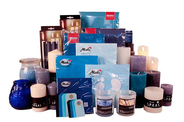 Blå Produkter