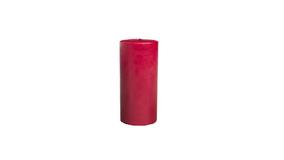 Bloklys 7 x 10 cm - Rubin Rød