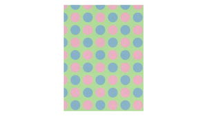 Dots Rose/Blue