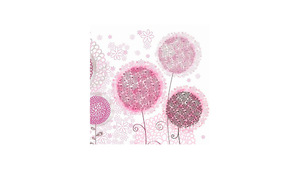 Graphic Dandelion Flowers