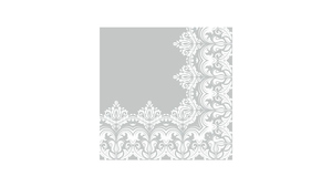 Ornament Border Grey
