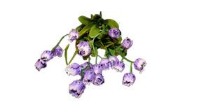 Kunstig Blomster Buket - Lilla 2