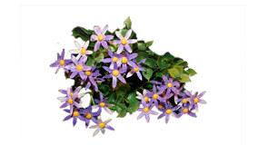 Kunstig Blomster Buket - Lilla 3