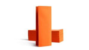 Airlaid Bookfold 32x40cm - Orange