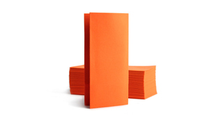 Airlaid Bookfold 39x40cm - Orange